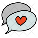 Love Message Chat Icon