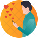 Love Message Love Sms Love Texting Icon