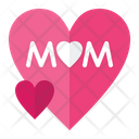 Love Mom Love Woman Icon