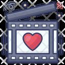 Love Movie Romantic Movie Action Icon