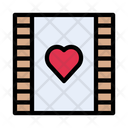 Reel Film Love Icon
