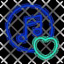 Love Music Icon