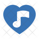 Favorite Music Love Icon