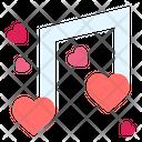 Love Music Heart Icon