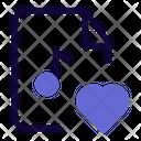 Love Music File Icon