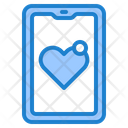 Love Notification Smartphone Mobilephone Icon