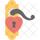Love Padlock Heart Icon
