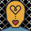 Passion Love Mind Icon