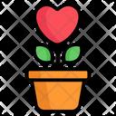 Love Plant Flower Love Icon