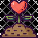 Love Plant Mindset Icon