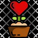 Love Plant Plant Valentines Day Icon