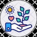 Love Plants Icon