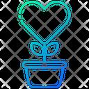 Love Pot Heart Icon