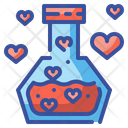 Love Potion Flask Valentines Icon
