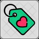 Love Price Tag Icon