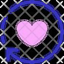 Love Process Reload Heart Icon