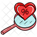 Love Search Find Love Finding A Partner Icon