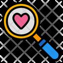 Love Search Search Find Icon