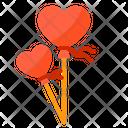 Love Shape Balloon Icon