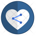 Love Sharing Icon