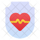 Love Shield Security Shield Secure Shield Icon