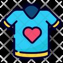 Love Shirt Icon