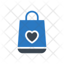 Love Shopping Bag Icon