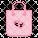 Shopping Bag Love Romance Icon