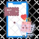 Love Shopping Icon