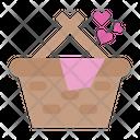 Love Shopping Love Heart Icon