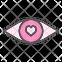 Love Sight Eye Heart Icon