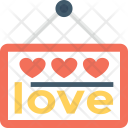 Love Signboard Icon