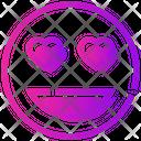 Love Smiley Icon