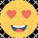 Smiley Happy Love Icon