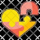 Love Solution Jigsaw Love Icon