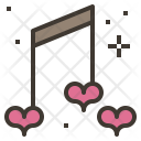 Love Song Note Icon