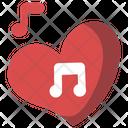 Love Song Romantic Icon