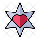 Love Star Icon