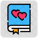 Love Story Book Icon