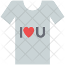 Love t-shirt Icon
