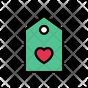 Love Tag Label Icon