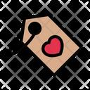 Tag Love Wedding Icon