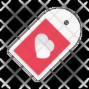 Tag Label Love Icon