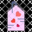 Tag Sale Heart Icon