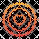 Love Target Love Target Taget Icon