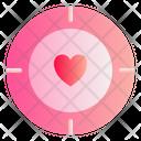 Target Love Romance Icon