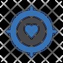 Love Target Focus Icon
