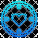 Love Target Target Goal Icon