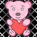 Love Teddy Icon