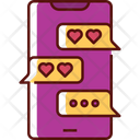 Love Text Love Letter Messages Icon